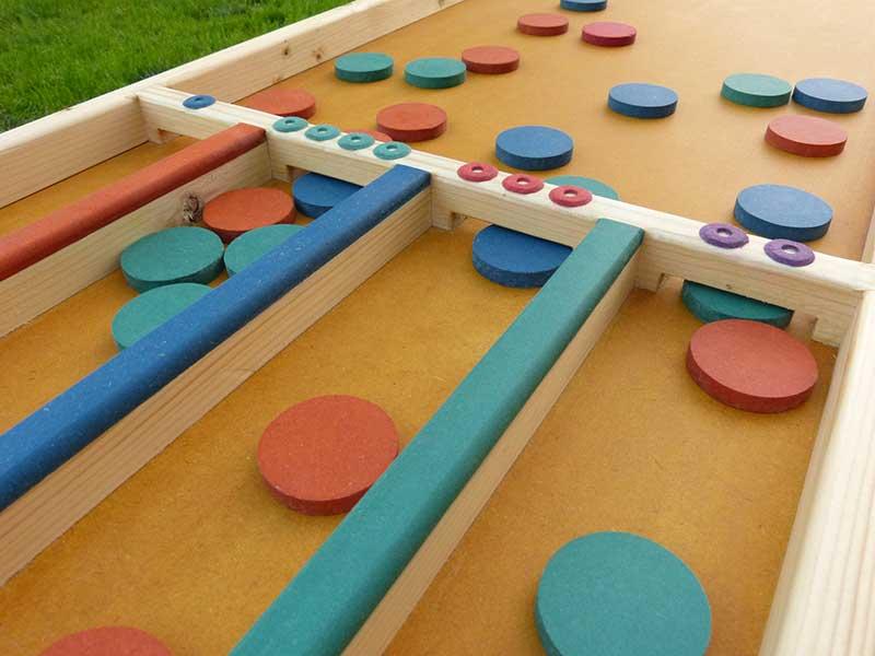 billard hollandais palets couleur grand jeu en bois location