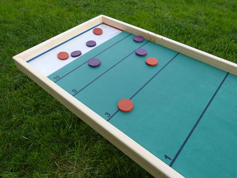 jeu géant en bois palet pétanque en location