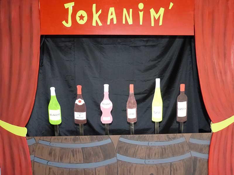 jeu en bois massacre cibles bouteilles théâtre